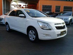 Foto numero 0 do veiculo Chevrolet Cobalt 1.8 LT AUTOMATICO - Branca - 2013/2013