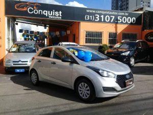 Foto numero 0 do veiculo Hyundai HB 20 1.0 UNIQUE - Prata - 2019/2019