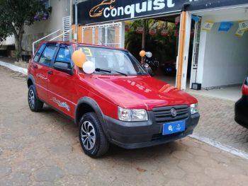 Foto numero 0 do veiculo Fiat Uno MILLE WAY 4 P - Vermelha - 2012/2013