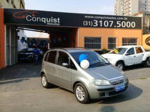 Foto numero 0 do veiculo Fiat Idea ELX 1.4 - Cinza - 2007/2008